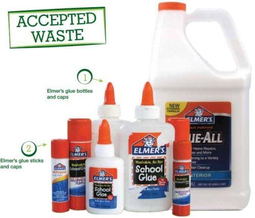 Elmer's Glue Accepted Waste