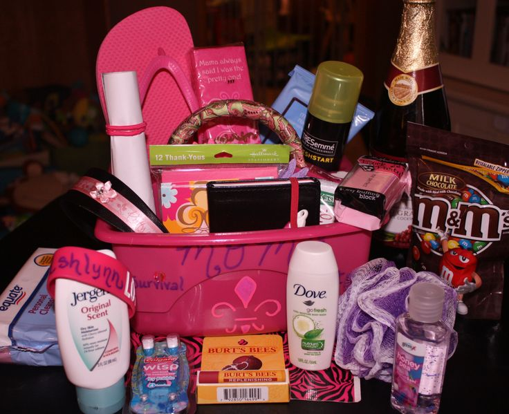 For the Expecting Mom: Hospital Survival Kit