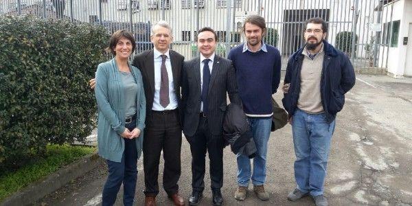 Il Sottosegretario di Stato al Ministero della Giustizia Cosimo Ferri ha visitato la Casa Circondariale di Voghera. Con lui il Presidente del Consiglio Nicola Affronti