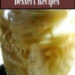 Canned Apple Pie Filling Desserts - Apple Crisp in Jars