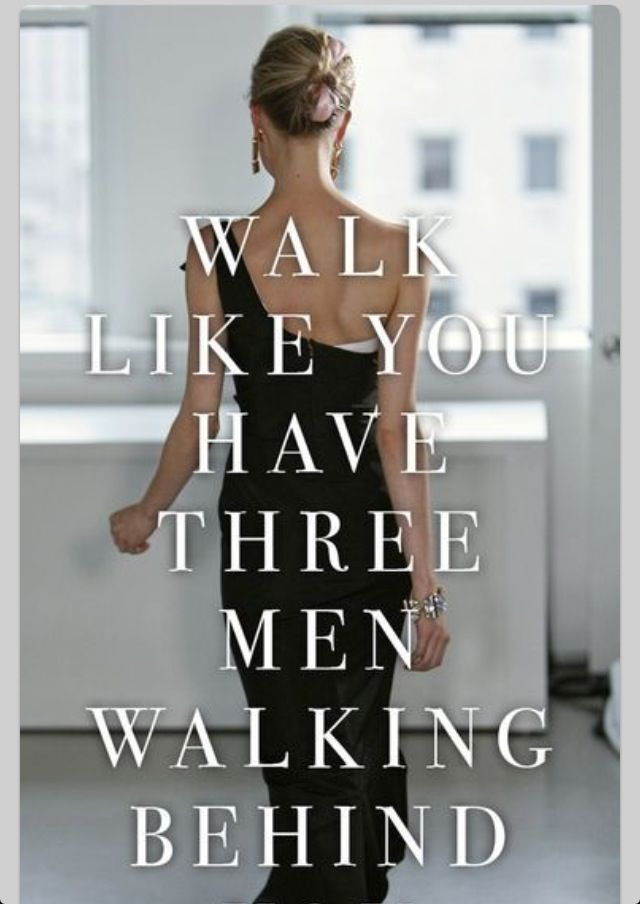 Talk the talk so you can walk the walk.