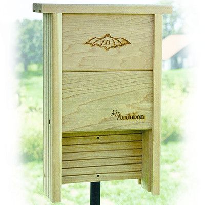Audubon/Woodlink Barn 17.5 in x 12 in x 4 in Bat House