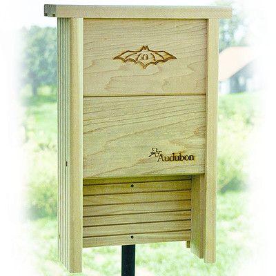 Audubon/Woodlink Barn 17.5 in x 12 in x 4 in Bat House