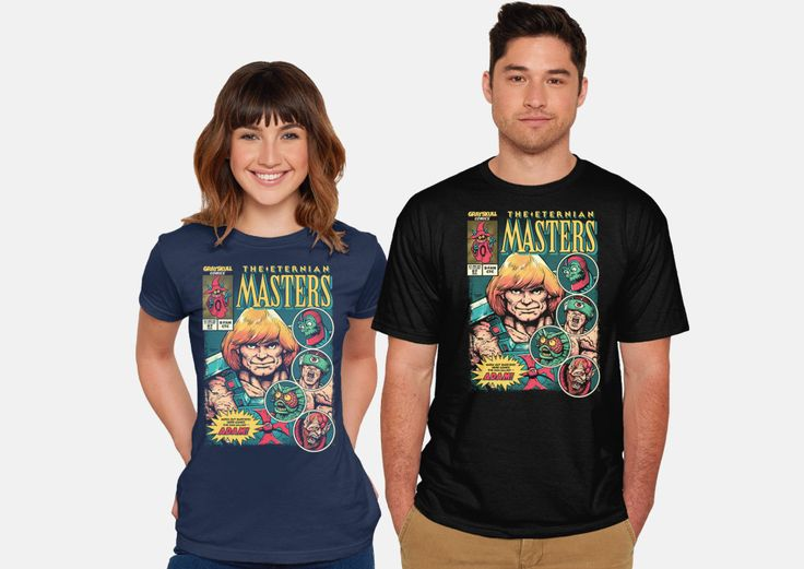 Masters Of The Universe Cats T Shirt