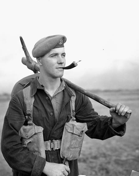 Soldier of the Princess Patricia's Canadian Light Infantry in Korea