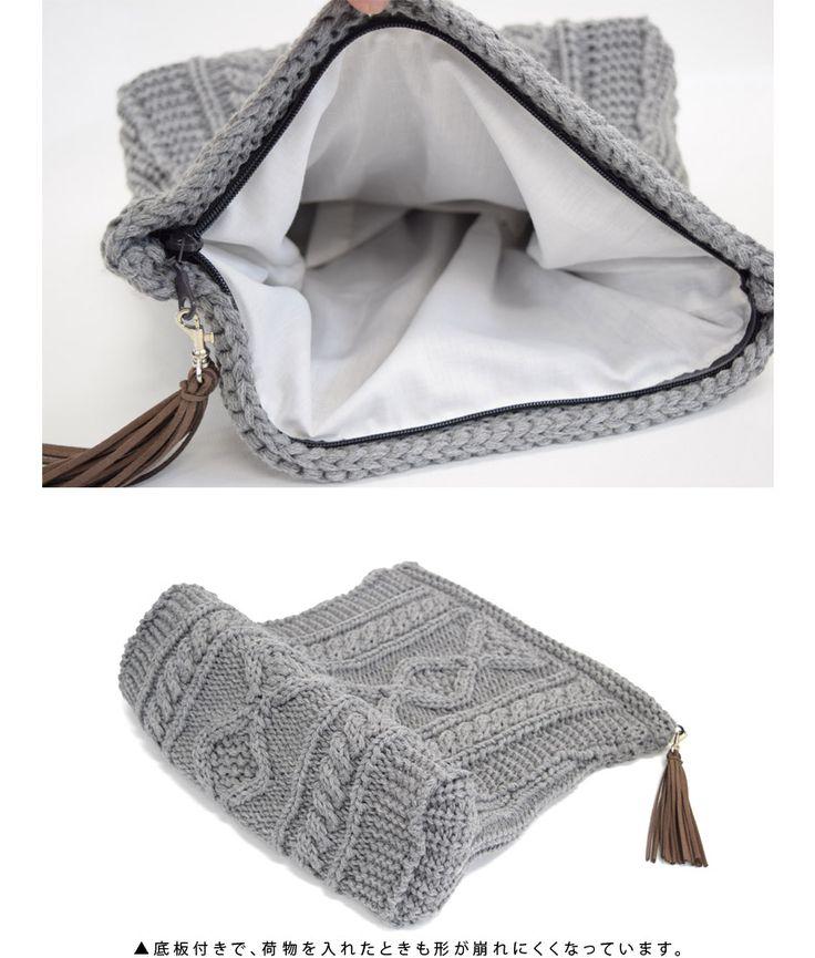 Мода на вязаные сумки