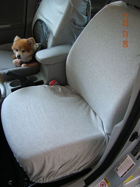 Picture of Auto Seat Covers out of 3 Men's T-shirts
