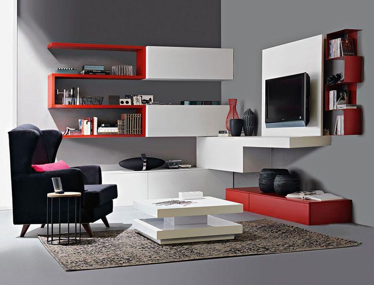 Ricci casa libreria indiga soggiorni e porta tv - Soggiorno ricci casa ...