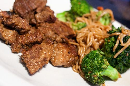 Stir Fry made with Miracle Noodles