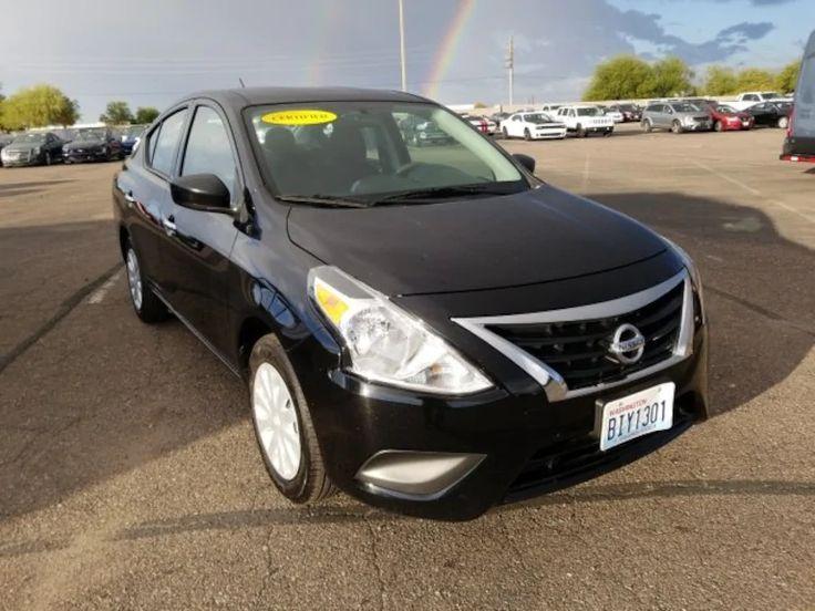 Used 2018 Nissan Versa SV Sedan For Sale in Scottsdale, AZ