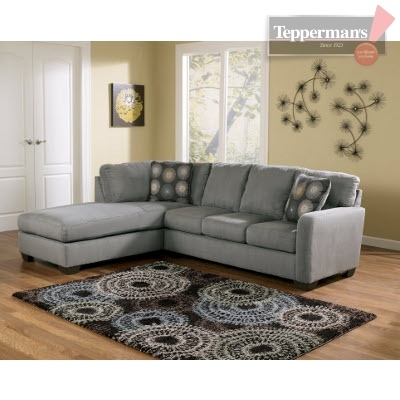 $900  Zella 2PC Sectional - Tepperman's