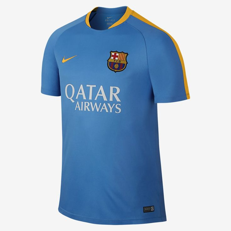 FC Barcelona Flash training shirt for men is made of breathable Dri-FIT fabric and eye-catching team details for superior comfort and a sincere look. PROS Dri-FIT fabric keeps you dry and comfortable Mesh back for ventilation Team colors and logo on the left chest for club pride PRODUCT DATA Mesh cr…