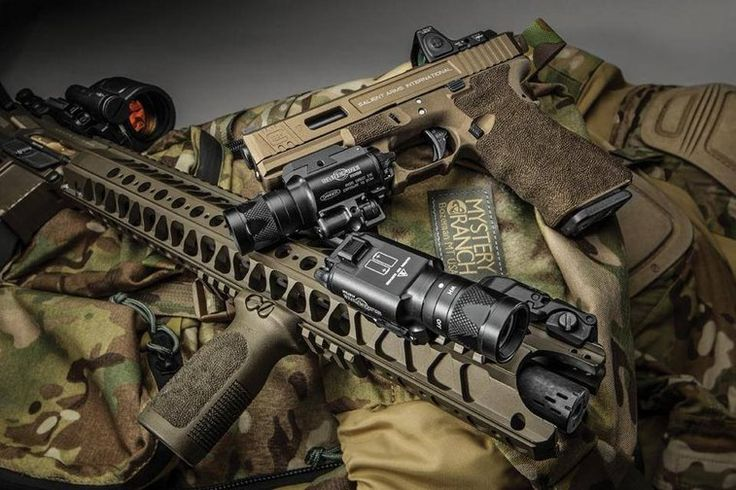 Salient Arms International AR15 and Glock 17 Tier One with RMR cut ...