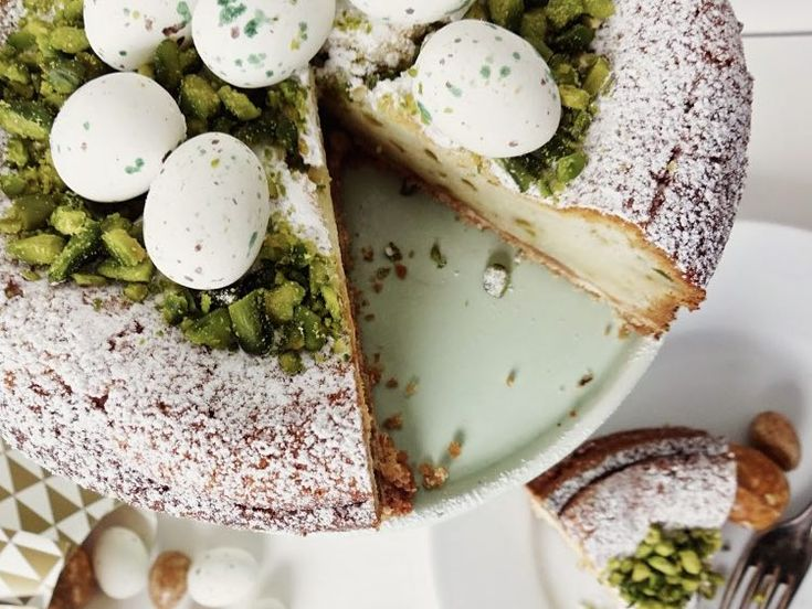 DIY tutorial: Pistachio Lime Cheesecake Recipe  via DaWanda.com