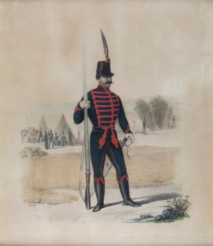 Lo-Presti gyalogos ( private collection aquarell )