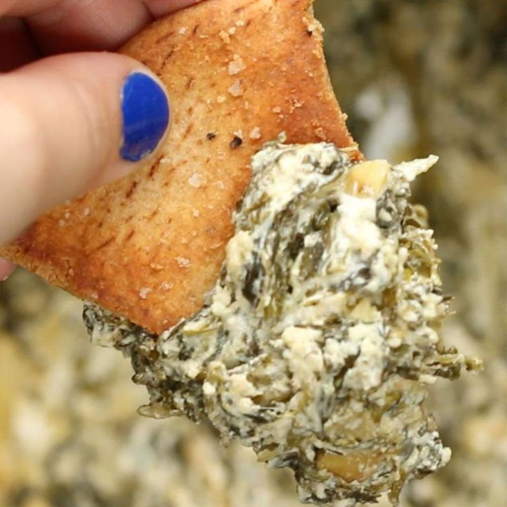 Healthy Slow Cooker Spinach Artichoke Dip Recipe by Tasty