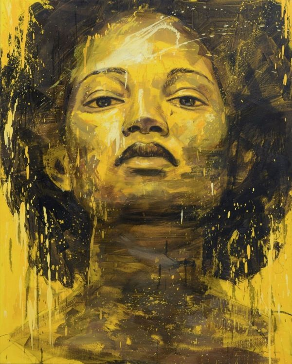 Exposure, 2013, Oil on Linen, 150 x 120 cm Lionel Smit. South Africa  http://www.lionelsmit.co.za