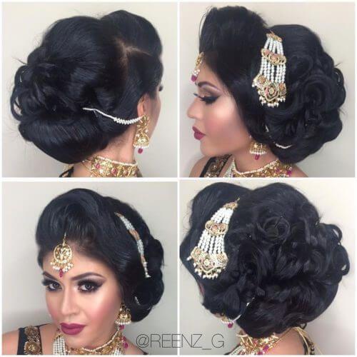 Hair Bun Style For Indian Wedding: 81 Best Hair Buns Images On Pinterest