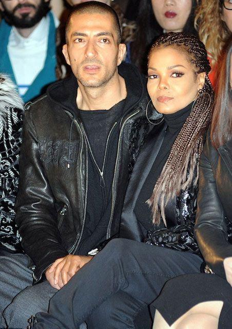 American singer, Janet Jackson and her husband, Wissam Al Mana...