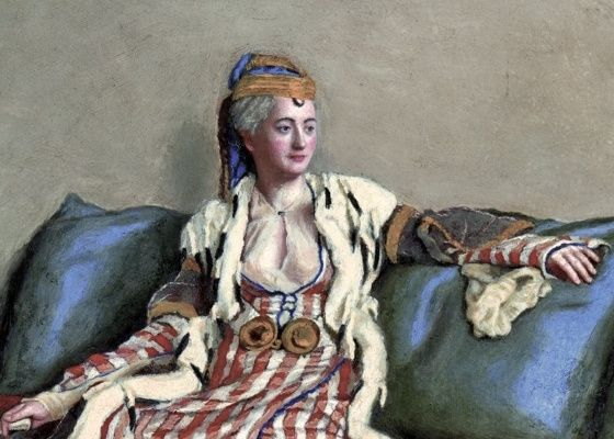 A stunning and evocative portrait of Lady Mary Wortley Montagu.