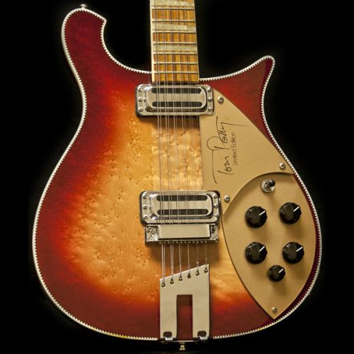 electricized: Rickenbacker Tom Petty Signature 1991-1993 (circa)Birdseye Maple, Rosewood Poor Tom Petty had many of his guitars stolen recently, but he still has a Rickenbacker signature model. Its official name is Model 660/12TP. No surprise with such release, Tom Petty has been a long time supporter of the brand. Although it was officially introduced during the 1991 NAMM Anaheim show, prototypes were hurling around as early as 1988. A total of 1000 TPs were made, the majority with a…