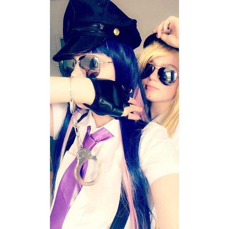 Practicing make up for tomorrow c:  Panty Lowenna  Stocking Ruby  #anime #manga #paswg #pantyanarchy #pantycosplay #paswgcosplay #animecosplay #cosplay #cosplayer #mcmexpo2016 #mcm2016 #mcmexpo