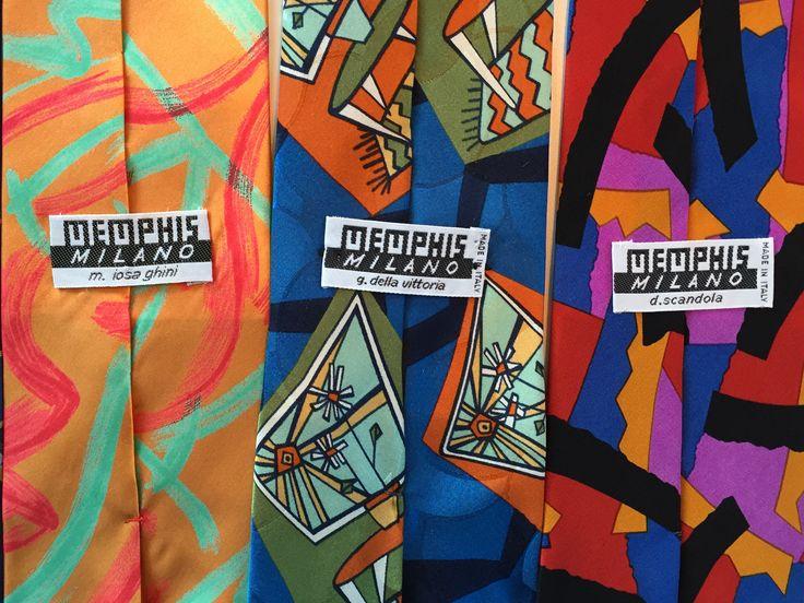 Memphis ties. Det var många som tillhörde Memphisgruppen i Milano på 1980-talet.