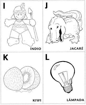 Alfabeto Ilustrado (Abecedário) - Mundinho da Criança - Atividades para Educação Infantil