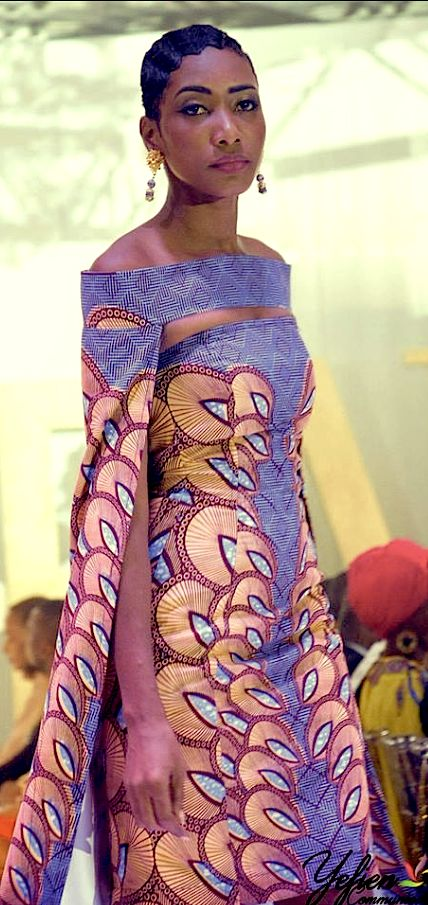 Maureen Ayité, designs for Nana Wax - Benin