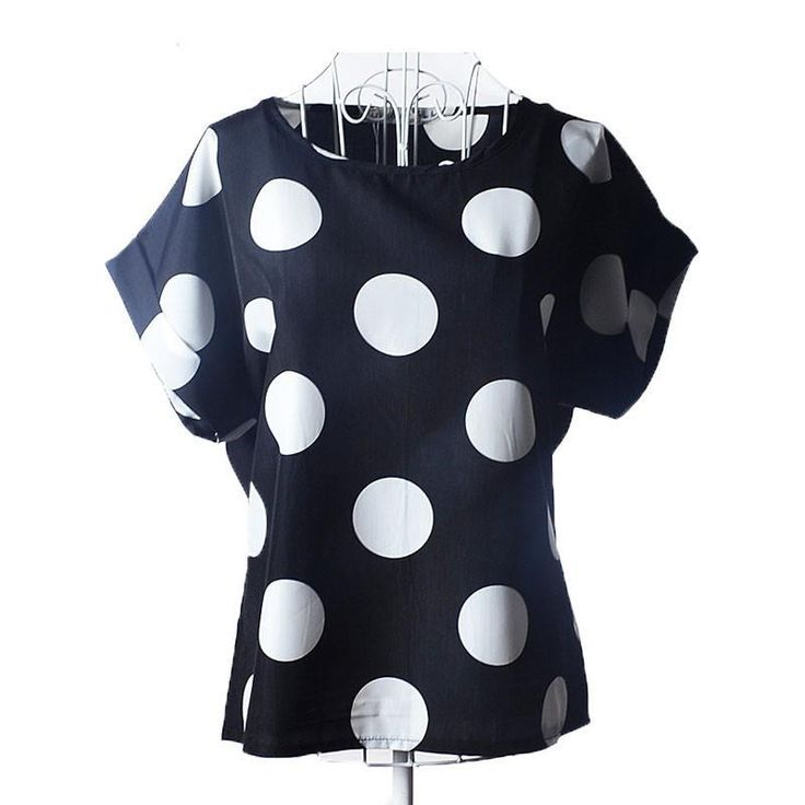 Polka Dot Batwing Shirt Womens - Polka Dotted All The Things Boutique - polkadottedallthethings.com
