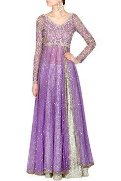 Lilac anarkali set #purple #anarkali #carma #carmaonlineshop #style #fashion…