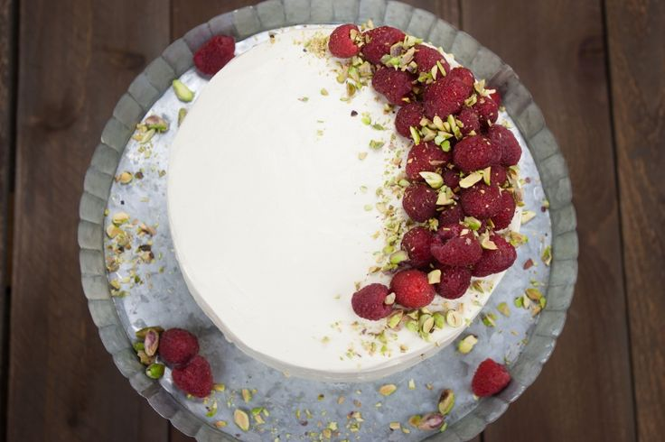 Italian Rum Cake with Raspberry Cream Filling - I may try to attempt this for mom's birthday this year . . .