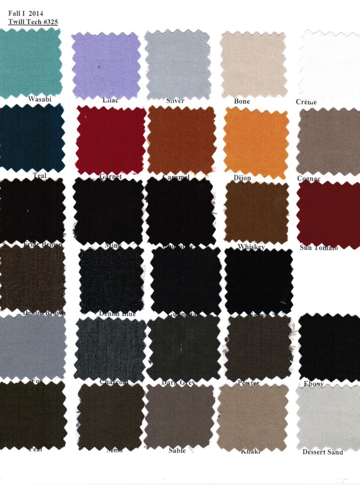 #equestrian #ColorSwatches #Fall2014 #325TwillTech