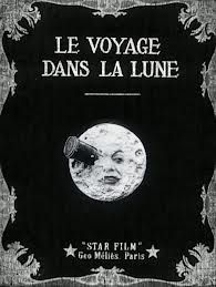 a trip to the moon silent film poster - Google Search. Smashing Pumpkins inspiration for Tonight, Tonight video.