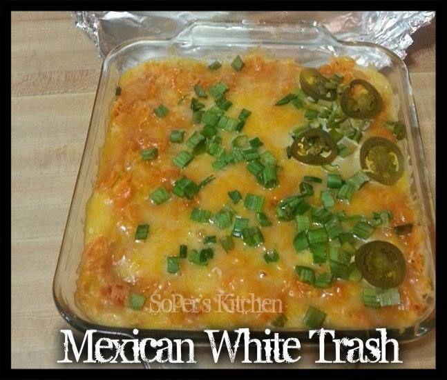 Mexican White Trash Casserole