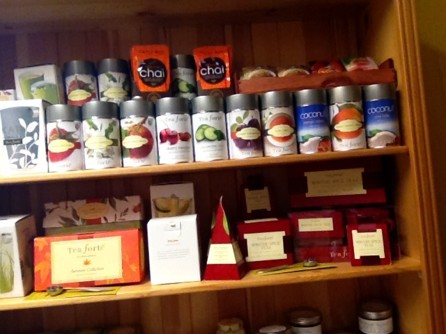 Flower Attic & Gifts. Virden Manitoba  Our selection of teas