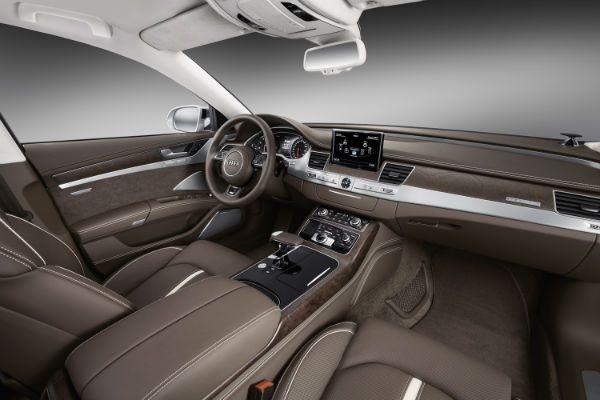 Audi A8 W12 2015 Interior
