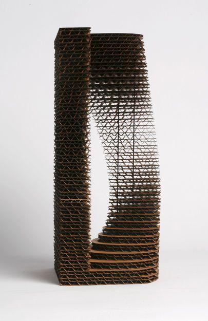 Zwarts en Jansma - Serendipity – playing with corrugated cardboard