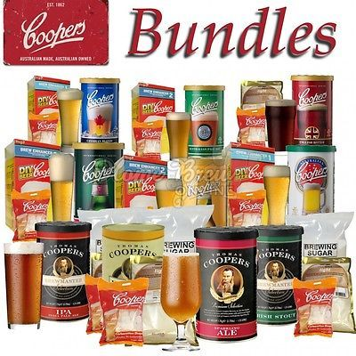 #Coopers beer kit home brew #bundles includes brew enhancer carbonation #drops,  View more on the LINK: http://www.zeppy.io/product/gb/2/231230601098/