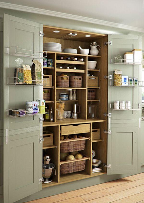 65 kreative Ideen zum Organisieren und Speichern Ihrer Küche