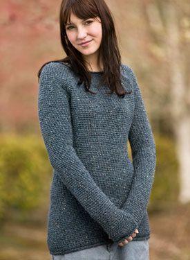 Comfy Boyfriend Crochet Sweater Pattern - Knitting Patterns by Melissa Horozewski