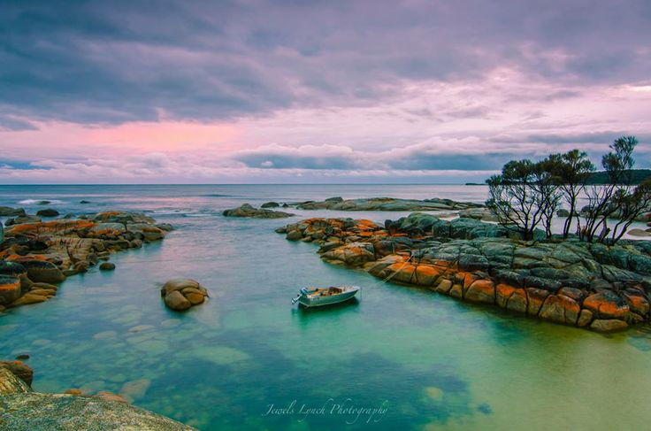 Bay of Fires - for #whitesandybeaches and beautiful #crystalclearbluewater.