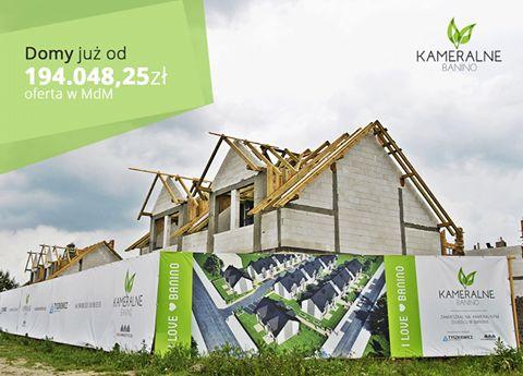 Ruszyła sprzedaż etapu IV Kameralnego Banina. Już dziś, wybierz jeden spośród 22 domów, realizowanych przy ulicy Księżycowej. Domy w cenach już od 194 048 zł w programie MdM! Znajdź swoje miejsce na ziemi na - www.kameralnebanino.pl/ #banino #domy #oddewelopera #morze #gdansk #gdynia #sopot