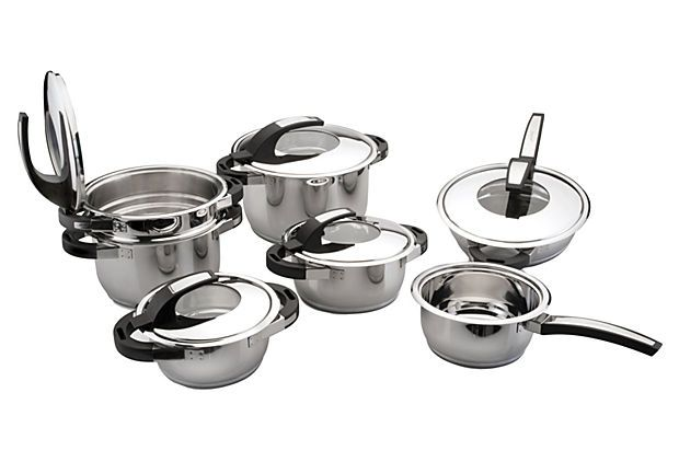 12-Pc Virgo Stainless Cookware Set on OneKingsLane.com