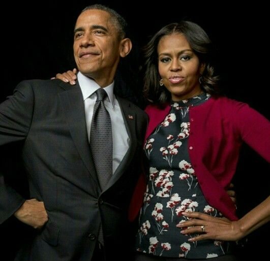 Barry Hussein and MOO w/ Attitude Obamas, showing off. But, showing off what? The fact they are from the gun-happy South Side of Chicago? 1/20/17 will be such a huge celebration. Can't wait. The most arrogant and narcissistic pair of goons ever to live in the W.H. They deserve each other.