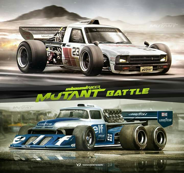 Toyota Mini Truck Ford Race Cars Cartoons Concepts