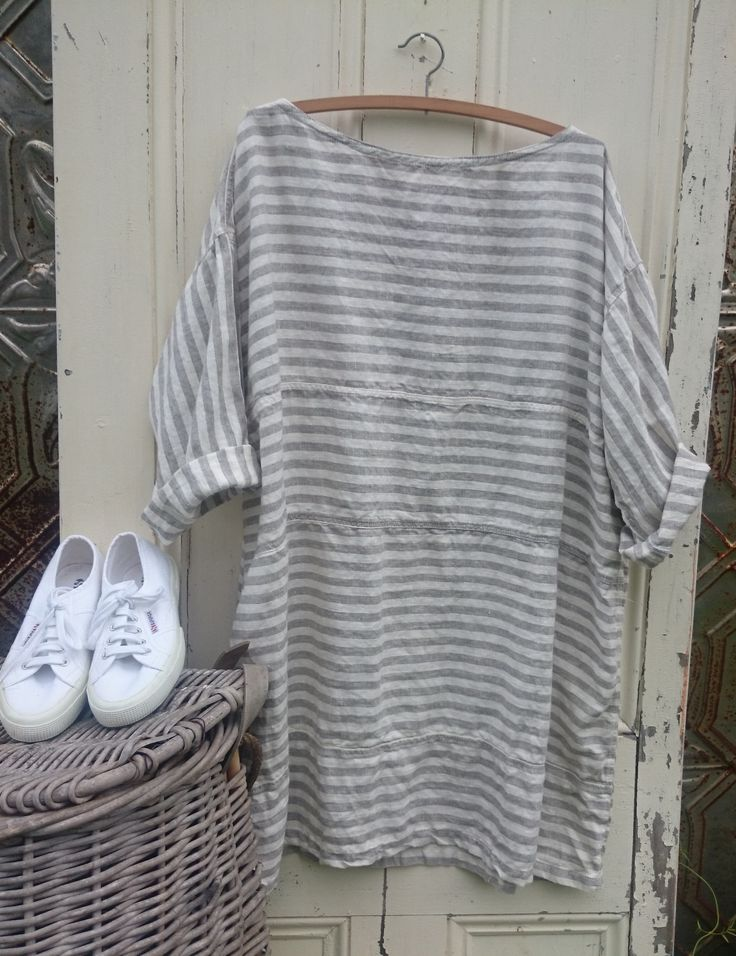 European Linen Summer Dress MegbyDesign