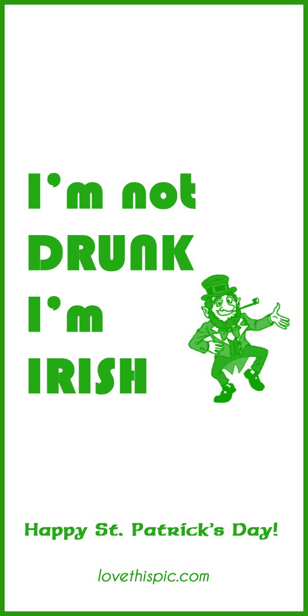43 best st patricks day images on pinterest for Funny irish sayings for st patrick day