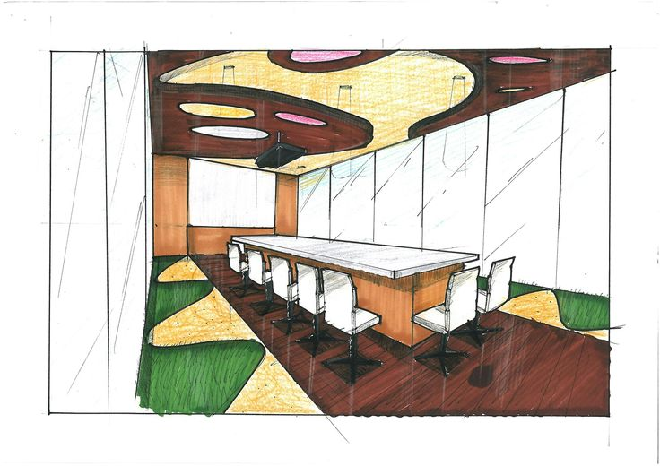 Meeting room sketch