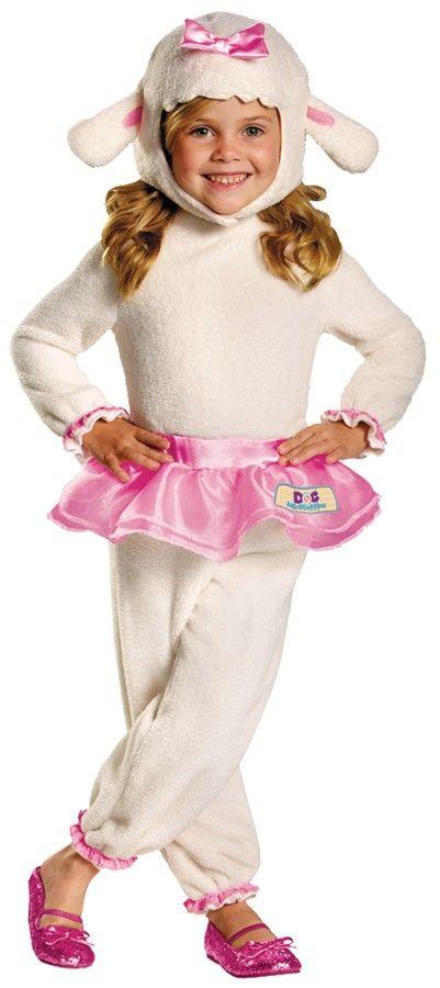 Doc McStuffins Lambie Toddler / Child Girl's Costume